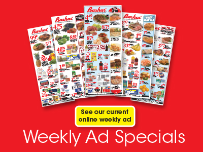 Weekly Ad Specials. See our current online weekly ad. Bashas' ad circular