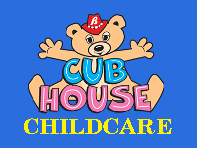 Cub House Childcare graphic. Cub House page
