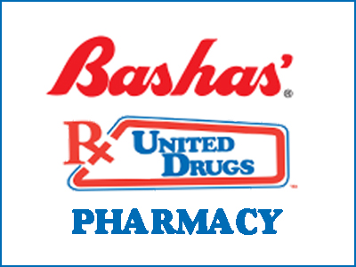 Bashas' United Drugs Pharmacy. Pharmacy page